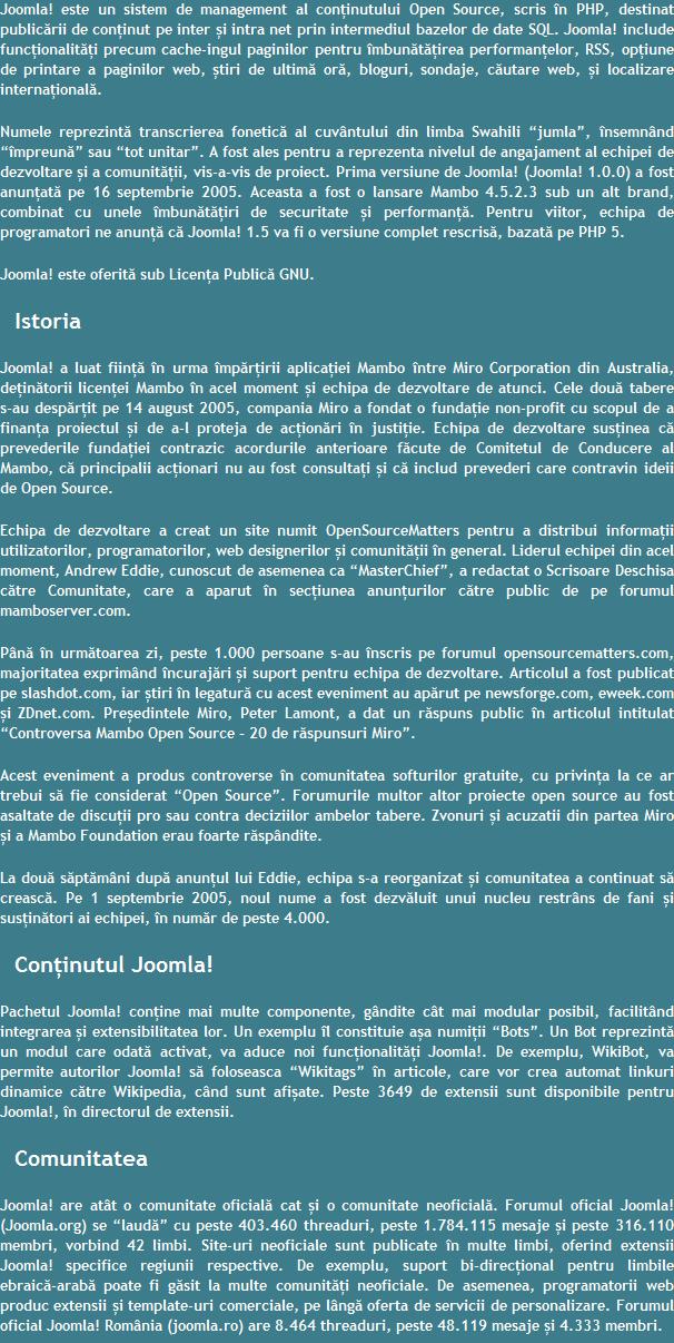 Joomla-Brasov---Oferta-Realizare-Promovare-SEO