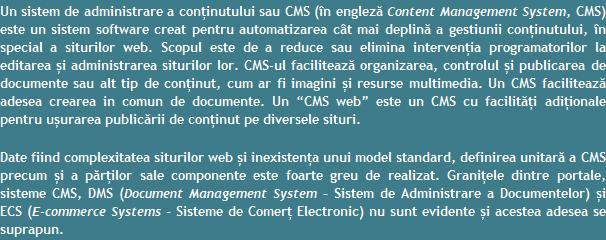 Web Design Brasov - WordPress, Joomla, Drupal, Magento, PrestaShop