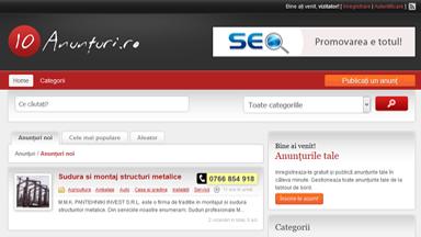Web Design Brasov Anunturi, Comunicate Presa Advertoriale