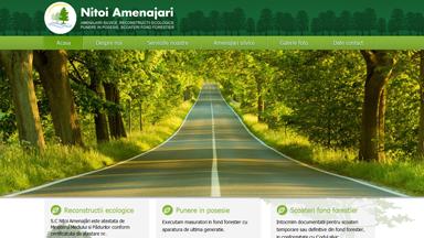 Web Design Brasov Amenajari Silvice