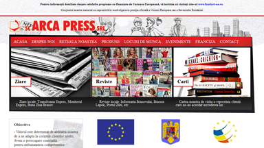Web Design Brasov Arca Press