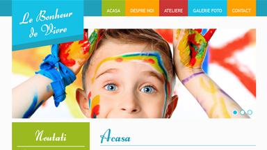 Web Design Brasov Le Bonheur de Vivre