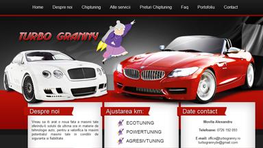 Web Design Brasov Tuning Auto