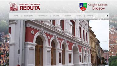 Web Design Brasov Centrul Cultural Reduta