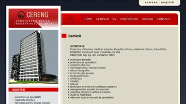 Web Design Brasov Cereng