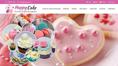 Web Design Brasov Cofetarie