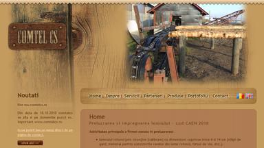 Web Design Brasov Comtel CS