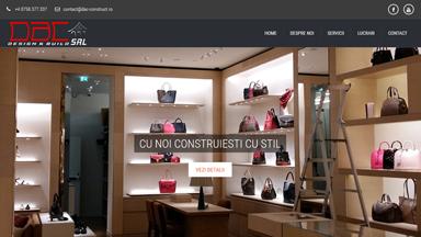 Web Design Brasov DAC Construct