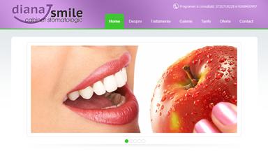 Web Design Brasov Diana Smile