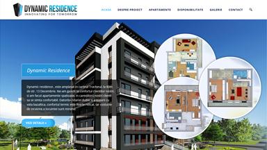 Web Design Brasov Dynamic Residence