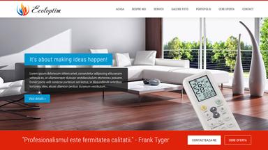 Web Design Brasov Ecoloptim