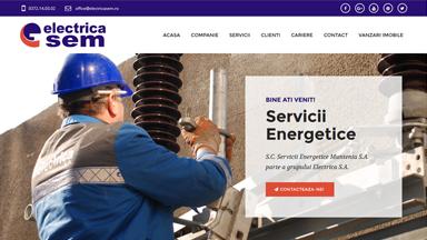 Web Design Brasov Electrica SEM