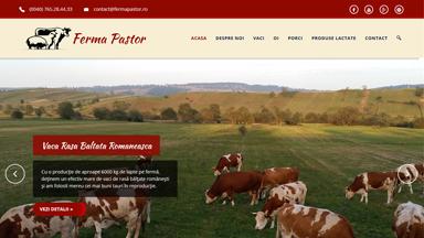 Web Design Brasov Ferma Pastor