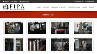 Web Design Brasov FIPA