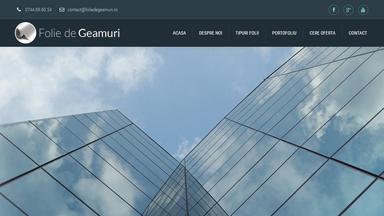 Web Design Brasov Folie de Geamuri