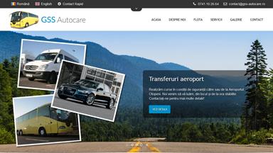 Web Design Brasov GSS Autocare