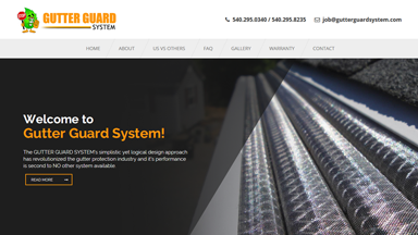 Web Design Brasov Gutter Guard