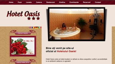 Web Design Brasov Hotel Oasis