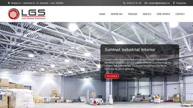 Web Design Brasov Iluminat Industrial