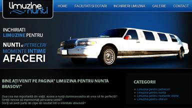 Web Design Brasov Limuzine Evenimente