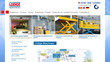Web Design Brasov Lodige Industries