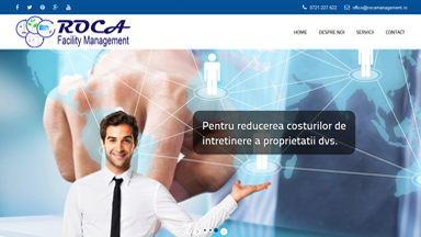 Web Design Brasov Roca Management