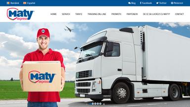 Web Design Brasov Maty Express