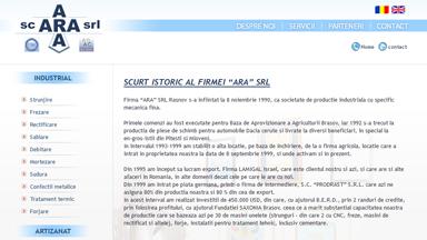 Web Design Brasov Mecanica Fina