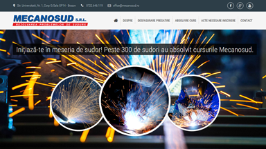 Web Design Brasov Mecanosud