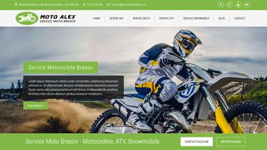 Web Design Brasov Service Moto Brasov