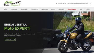 Web Design Brasov Moto Expert