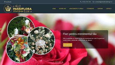 Web Design Brasov Passiflora