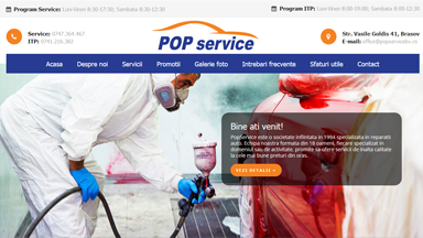 Web Design Brasov Pop Service