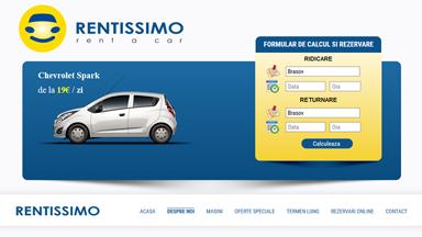 Web Design Brasov Rentissimo