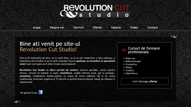 Web Design Brasov Revolution Cut