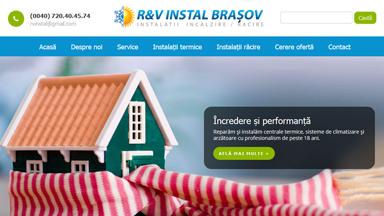 Web Design Brasov RV Instal