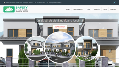 Web Design Brasov Safety Village