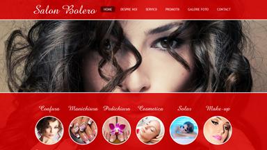 Web Design Brasov Salon Bolero