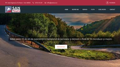 Web Design Brasov San Tours