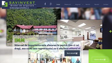 Web Design Brasov Savinvest