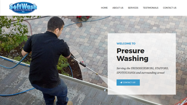 Web Design Brasov Soft Wash Solutions Fredericksburg