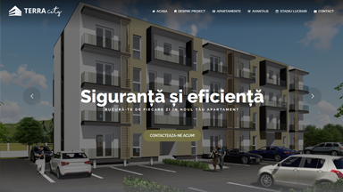 Web Design Brasov Terra City