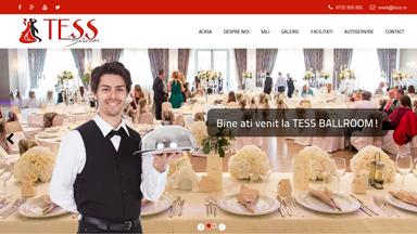 Web Design Brasov Tess Ballroom