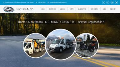 Web Design Brasov Tractari Auto