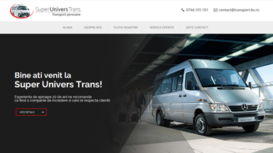 Web Design Brasov Transport Brasov