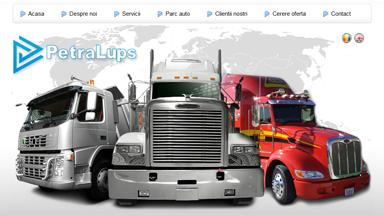 Web Design Brasov PetraLups Transporturi