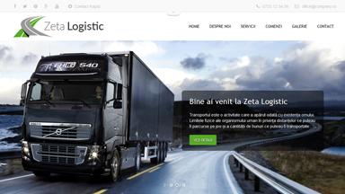 Web Design Brasov Zeta Logistic