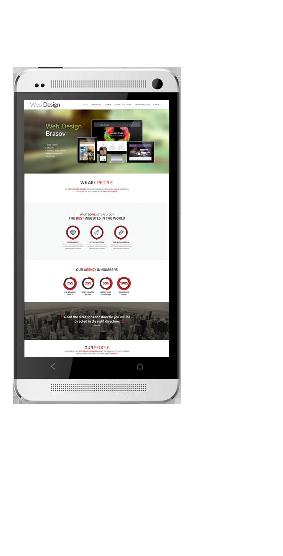 Webdesign Brasov Mobile Responsive