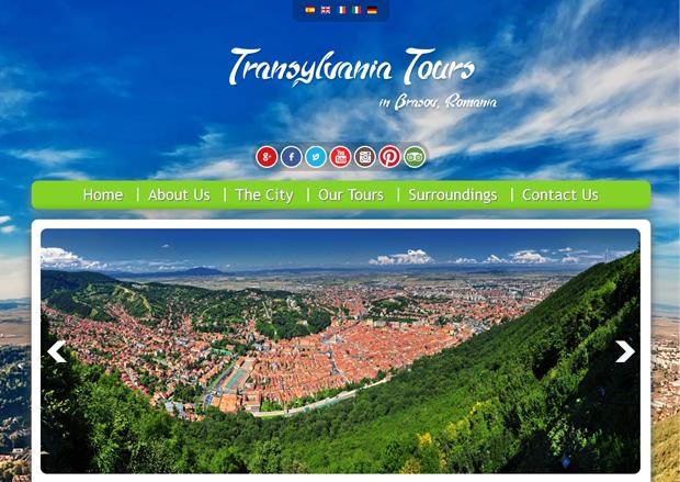 Web Design Brasov Realizare Site Portal Turistic