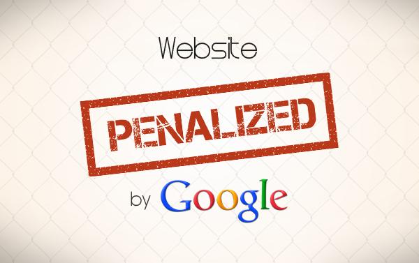 Semne ca site-ul tau este penalizat de Google